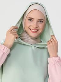 Mint - Pink - Sweat-shirt