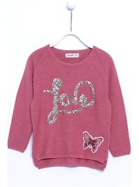 Dusty Rose - Girls` Pullovers
