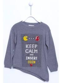 Gray - Girls` Pullovers