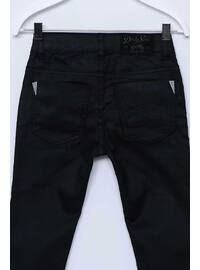 Black - Boys` Pants