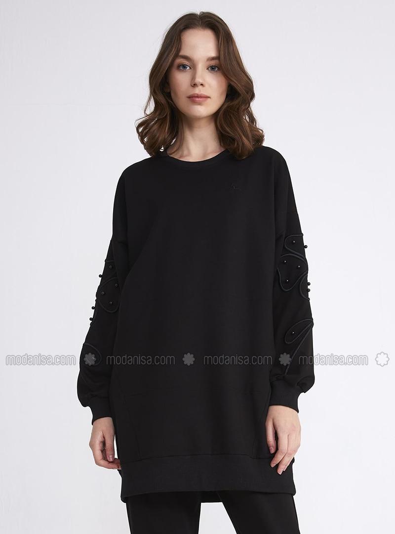 Black - Activewear Tops