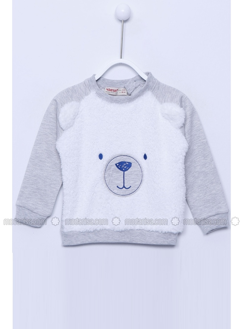 Gray - Baby Sweatshirts