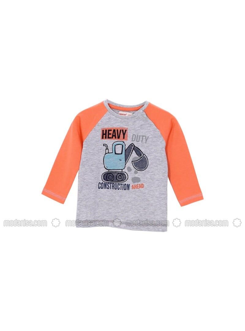Orange - Baby T-Shirts