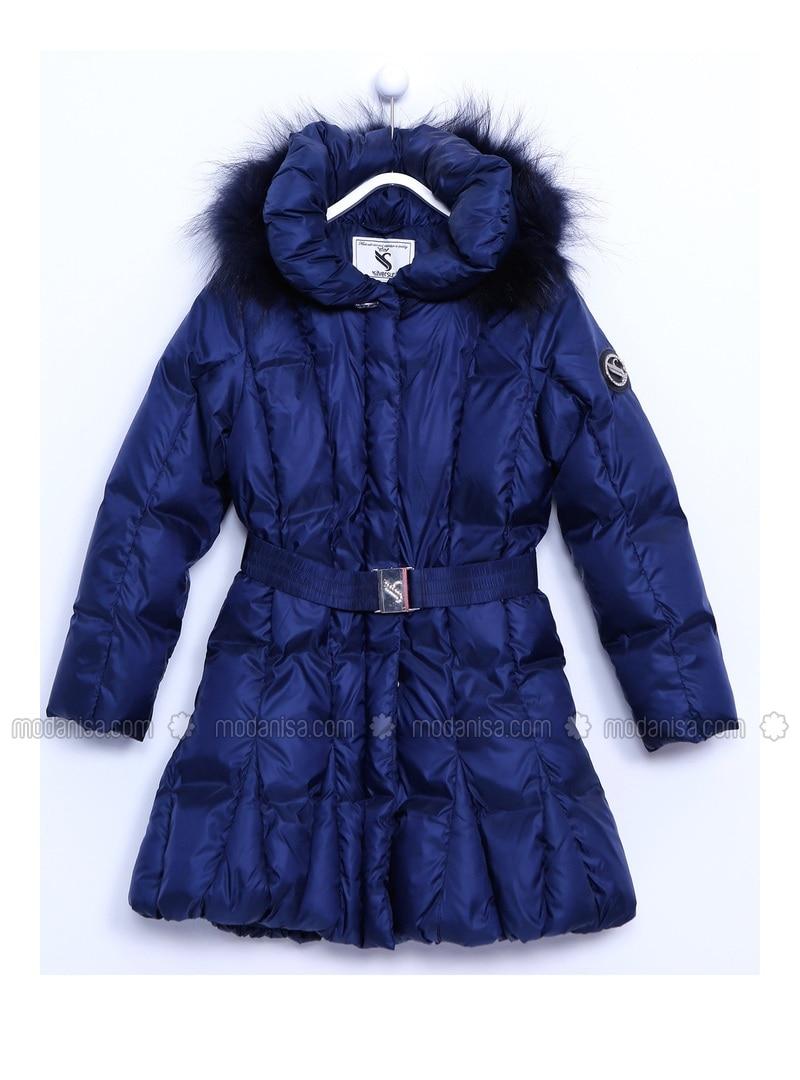Navy Blue - Girls` Jacket