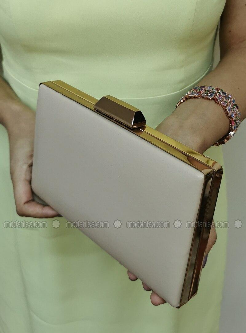 Nude - Clutch - Clutch Bags / Handbags
