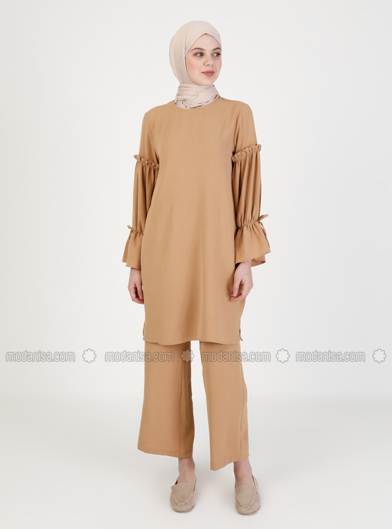 Camel - Unlined - Suit