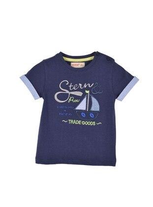Navy Blue - baby t-shirts - Silversun