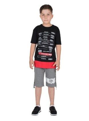 Black - Boys` T-Shirt