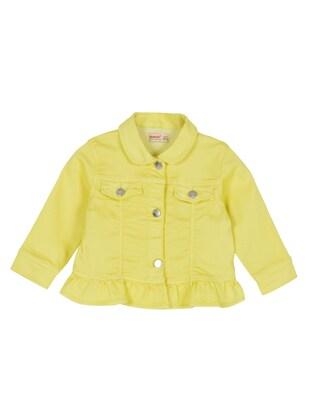 Yellow - Girls` Jacket - Silversun