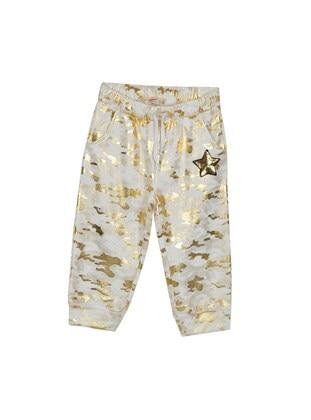 Ecru - Girls` Shorts
