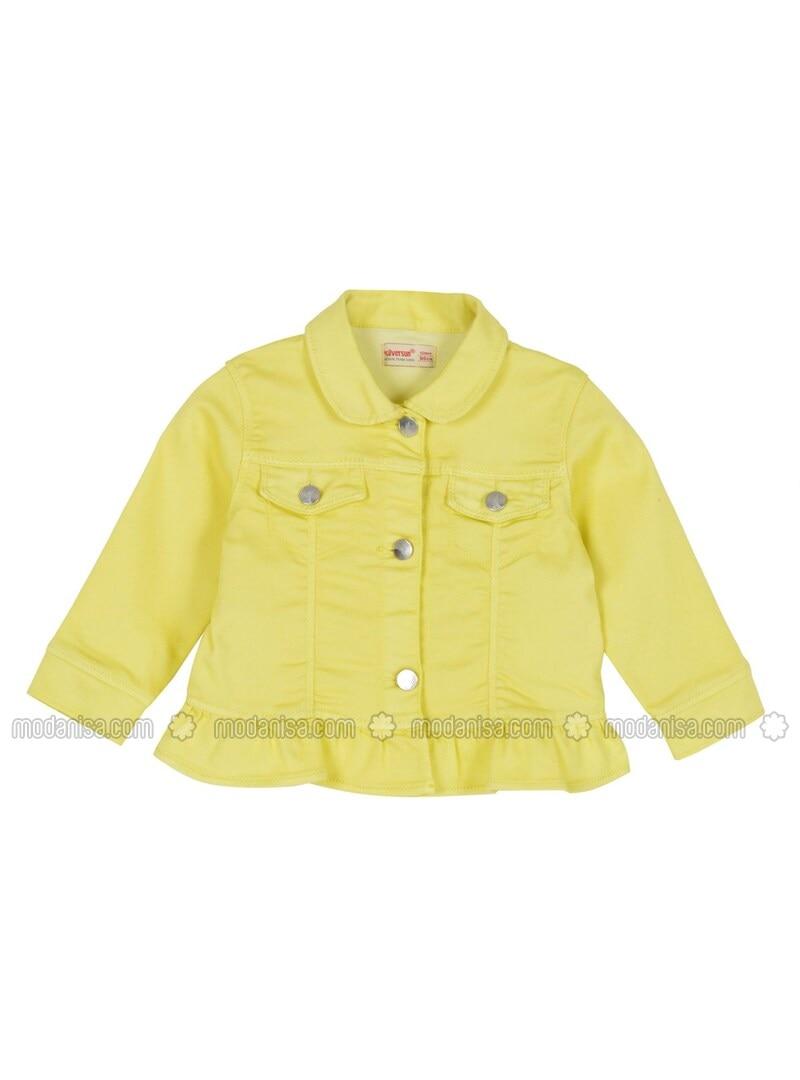 Yellow - Girls` Jacket