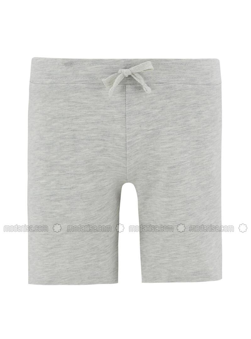 Gray - Girls` Shorts