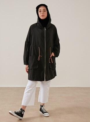 Black - Trench Coat