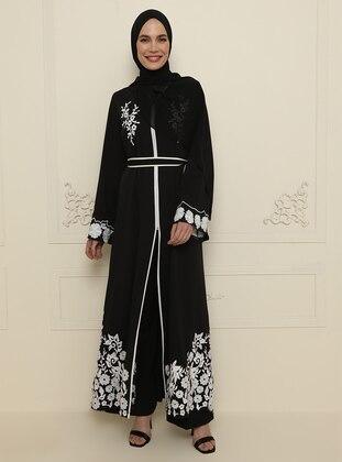 Black - Evening Abaya
