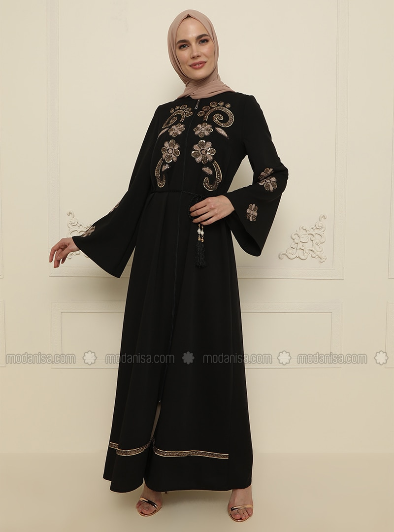 Black - Evening Abaya