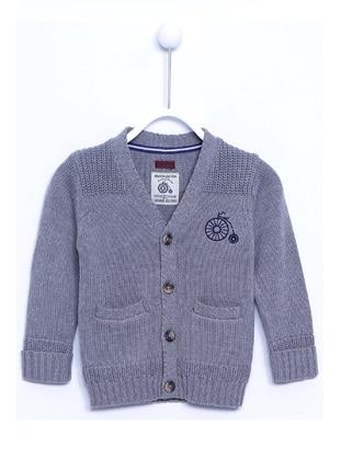 Gray - Baby Cardigan