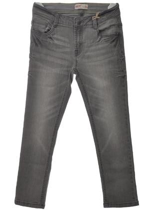 Gray - Boys` Pants - Silversun