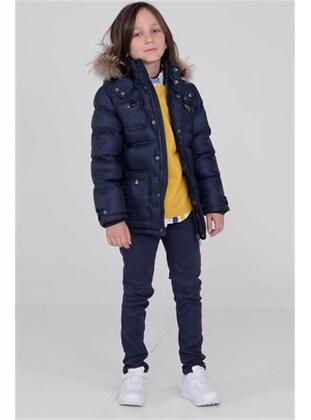 Navy Blue - Boys` Jacket