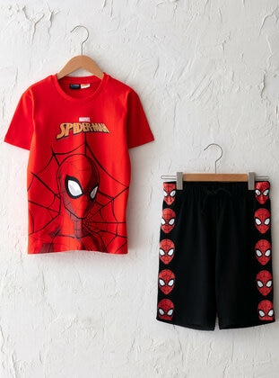 Red - Boys` Suit