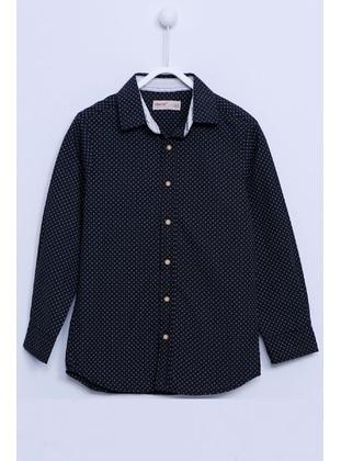 Black - Boys` Shirt