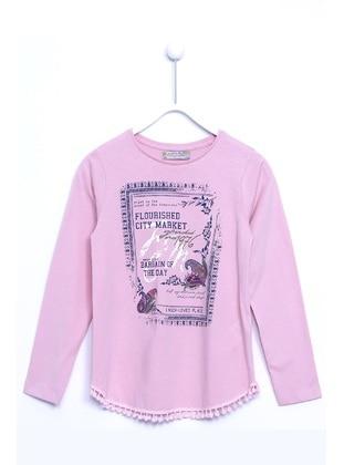 Pink - Girls` T-Shirt - Silversun