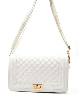 Crossbody - Satchel - White - Cross Bag