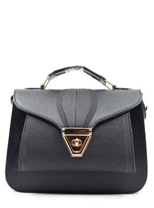 Crossbody - Satchel - Black - Cross Bag