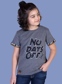 Printed - Crew neck - Unlined - - Boys` T-Shirt