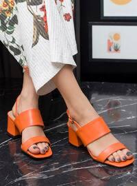 Orange - High Heel - Heels