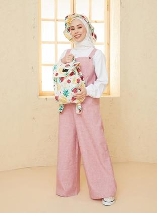 Pink - Overalls - Ceylan Otantik