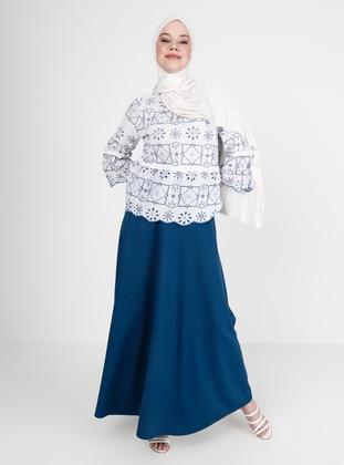 Indigo - Half Lined - Skirt