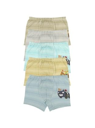 Multi - Unlined - Multi - Kids Underwear