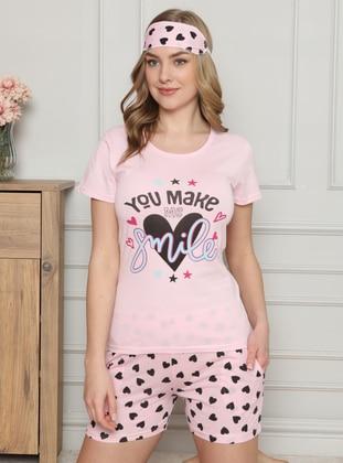 Pink - Short Set