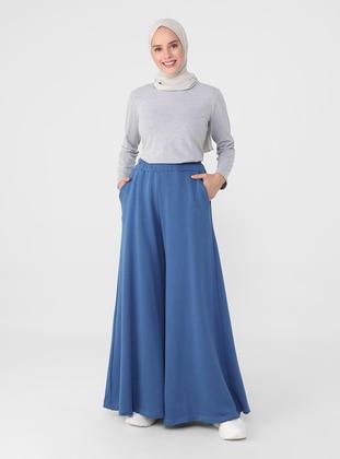 Navy Blue - Culottes