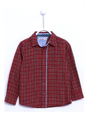 Red - Boys` Shirt - Silversun