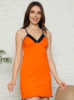Orange - Multi - Nightdress