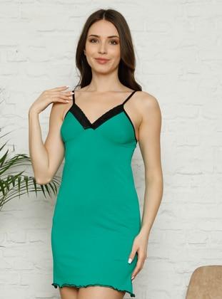 Green - Multi - Nightdress