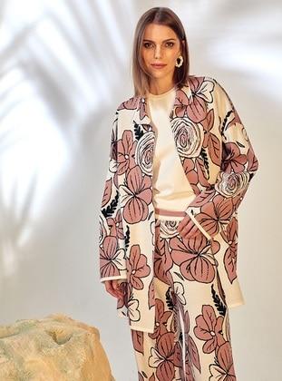 Powder - Unlined - Floral - Jacquard - Knit Jackets