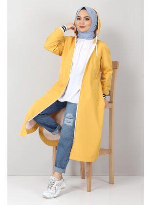 Yellow - Trench Coat