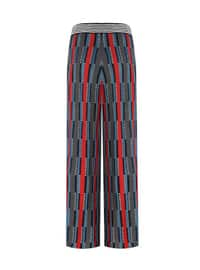 Coral - Jacquard - Knit Pants
