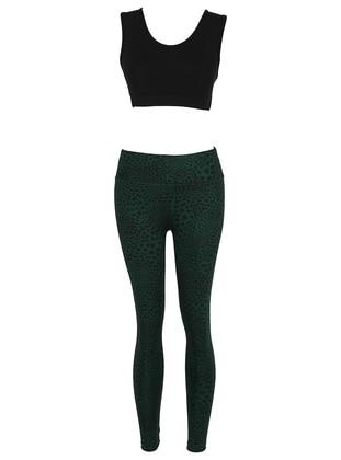 Black - Green - Activewear Set