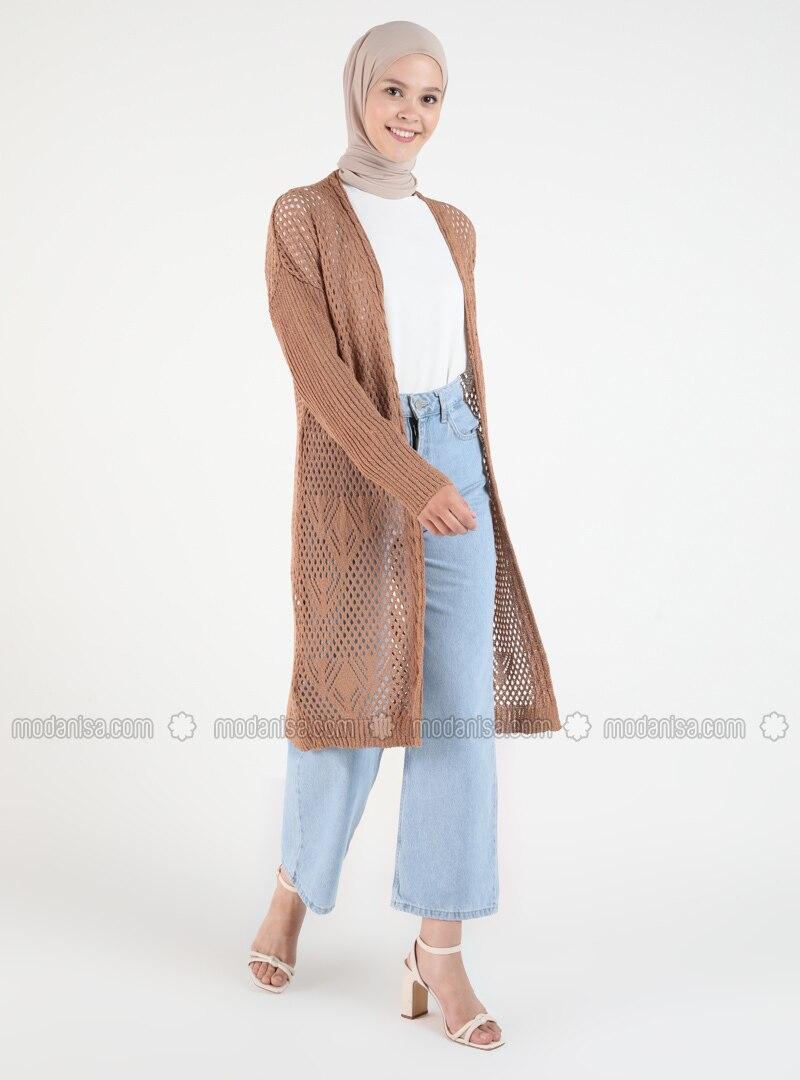Camel - Plus Size Cardigans
