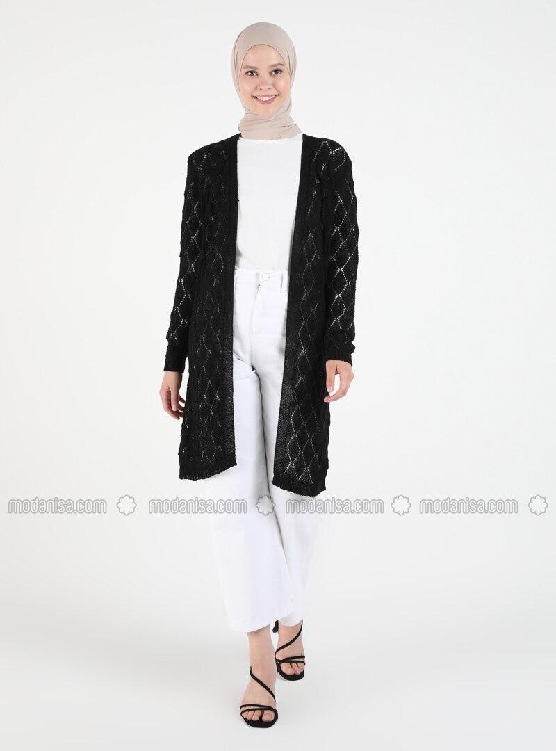 Black - Plus Size Cardigans