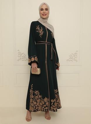 Green - Evening Abaya