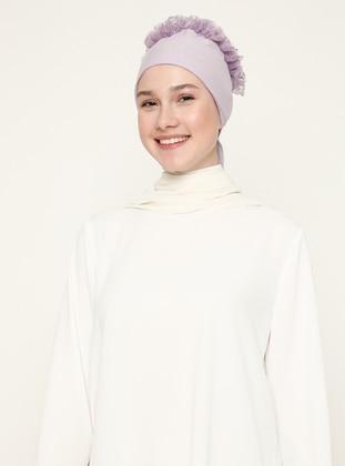 Lilac - Lace up - Bonnet
