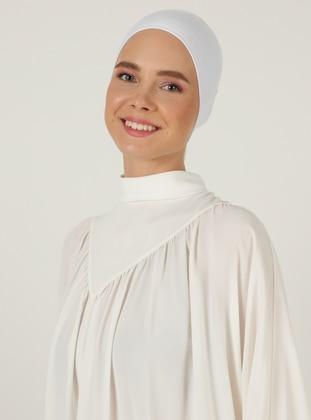White - Non-Slip Underscarf