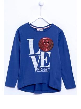 Blue - Girls` T-Shirt - Silversun