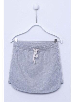 Gray - Girls` Skirt