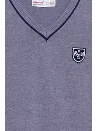 Gray - Boys` Vest