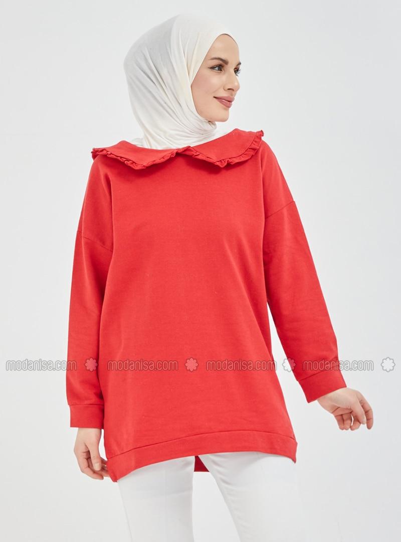 Round Collar - Sweat-shirt